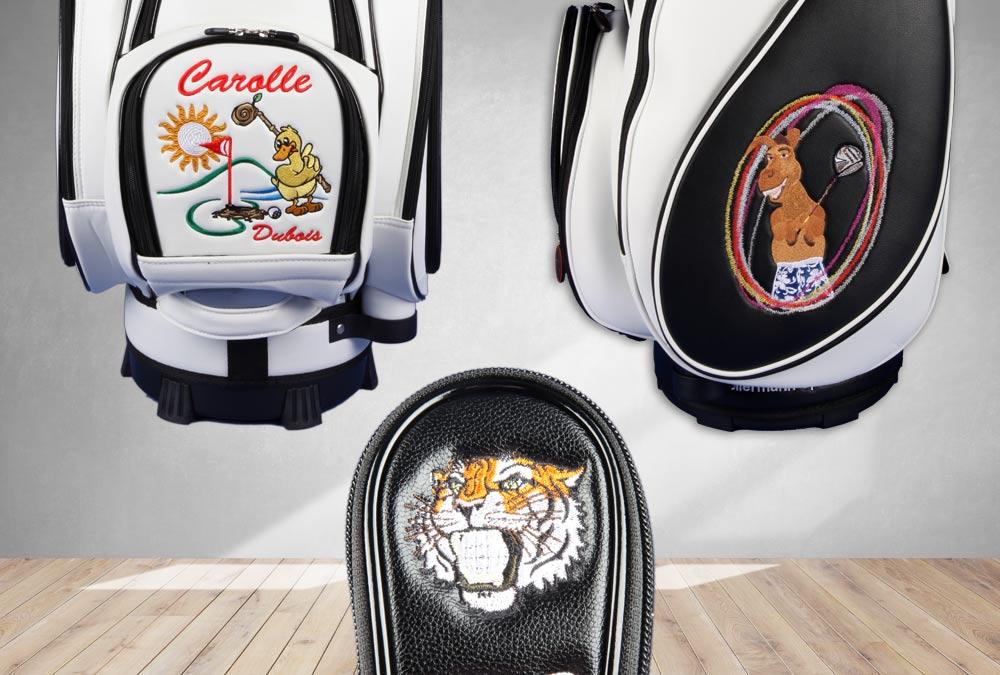 Golfmotive mit Tieren
