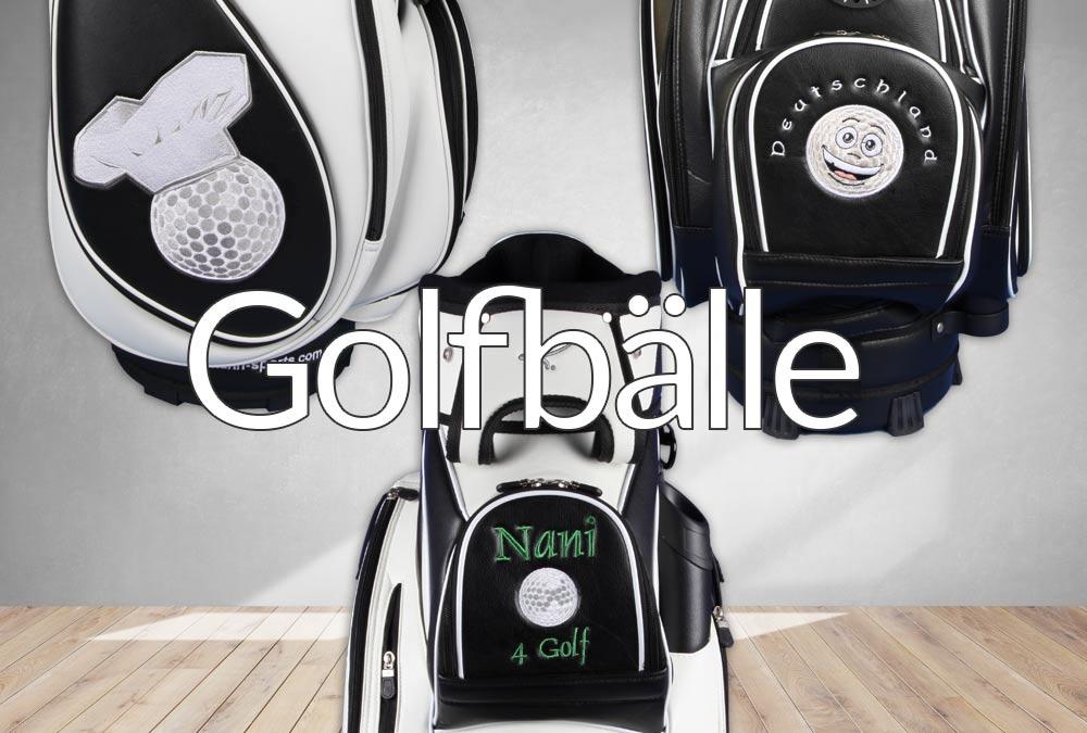 Ballball-Designs für individuell bestickte Golfbags