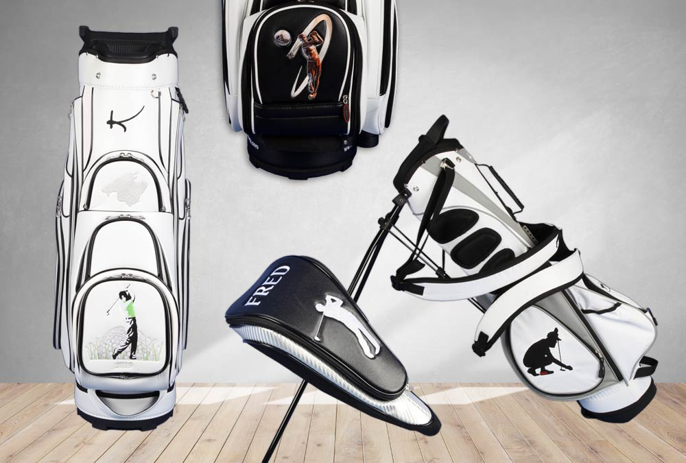 Golfdesigns für Herren-Golfbags