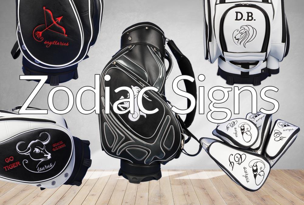 Golfbag: Sternzeichen
