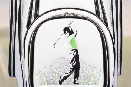 Golf bags with GOLF DESIGNS