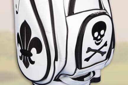 Golf bags with PATTERNS, SIGNS
