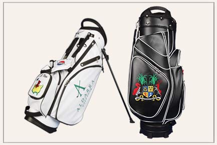 Custom golf bags by Kerstin Kellermann