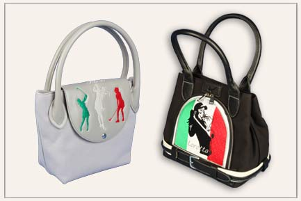 Customized golf handbags