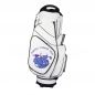 Preview: Golf bag / cart bag in white. Personalized on 3 areas. Design your cart bag online. Classic Bauhaus style