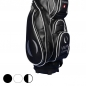 Preview: Golf bag / cart bag. Custom stitched on front and sides with a company logo