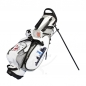 Mobile Preview: Golfbag / pencil stand MARRAKESH in white. Design 4 custom areas