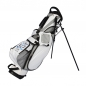 Preview: Golfbag / pencil stand MARRAKESH in white. Design 1 custom area