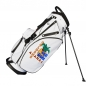 Mobile Preview: Bolsa de golf / bolsa golf trípode para equipos. Logo d en 3 áreas. Bolsa de golf impermeable