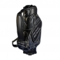 Preview: Golf bag / tour bag in black or white for golf teams. 5 custom stitched areas.