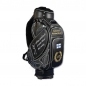 Preview: Handmade golf bag / tour staff bag. 6 areas custom stiched. Online design tool.