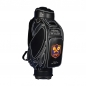 Preview: Golf bag / tour staff bag. Front custom stiched. Online design tool.