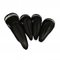 Preview: Head Cover Set 4teilig individuell mit Monogramm bestickt