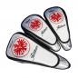Preview: Head cover set 3 pieces custom stitched with a company logo