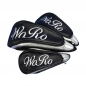 Preview: Head Cover Set 3tlg online designen. Set im gleichen Stickdesign