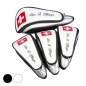 Mobile Preview: Head cover set 4 pieces custom stitched: National flag/name