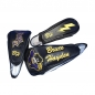 "Preview: Custom-stitched golf head cover set 3 pcs. ""driver / wood / rescue"" Design online! DIFFERENT design for each head cover"
