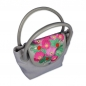 "Preview: Handtasche ONLY YOU. Golfdesign ""Sylter Rosen"". Sandfarbene subtile Eleganz"