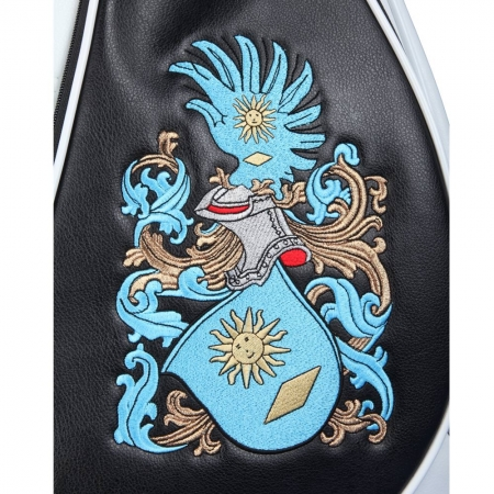 Golf bag / cart bag. Design 4 custom stitched areas by yourself.