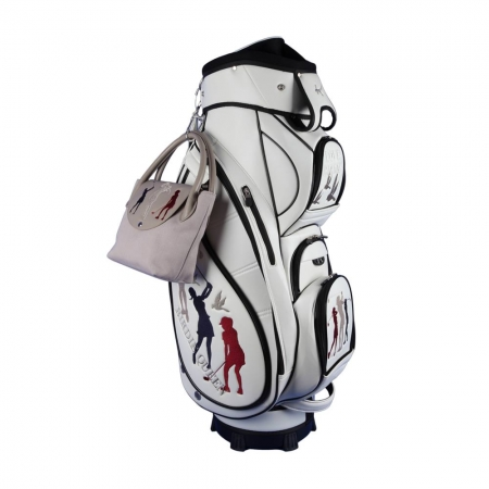 Ladies Set online designen! Golfbag Typ Cartbag MADEIRA & Golf-Handtasche ONLY YOU