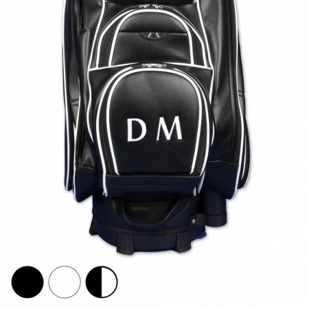 Golf Bag / Cart Bag. Mit Name/Initialen individuell bestickt.