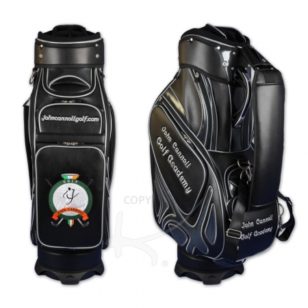 Bolsa de golf / bolsa de golf tour staff. Bordados personalizados en 5 áreas