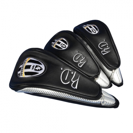 Head cover set 3 pieces custom stitched with a company logo