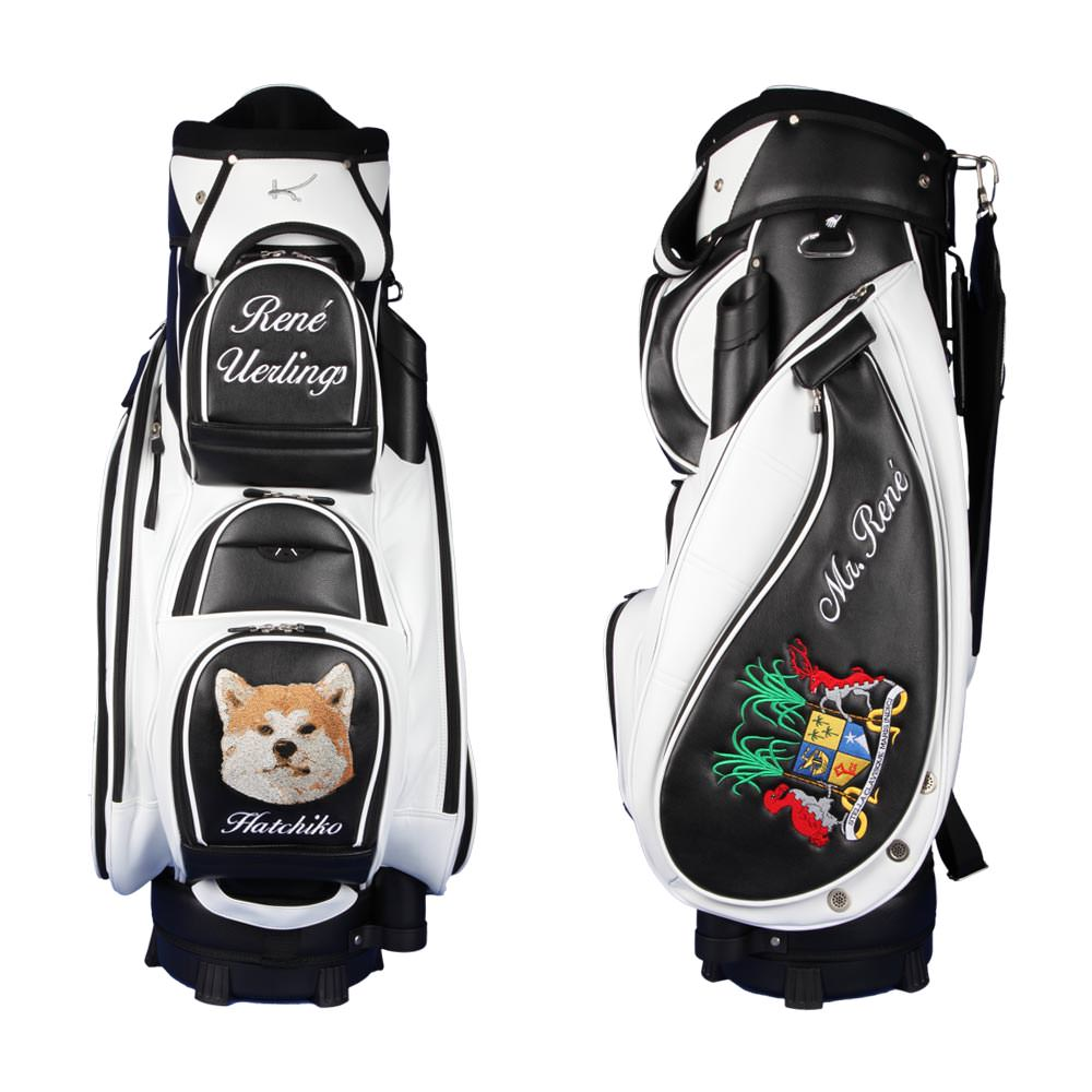 Exclusive Cart Bag In Black White