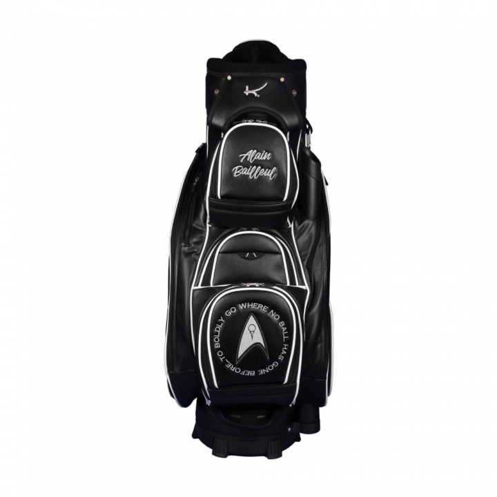 Golf bag / cart bag. Design 2 custom stitched areas by yourself.