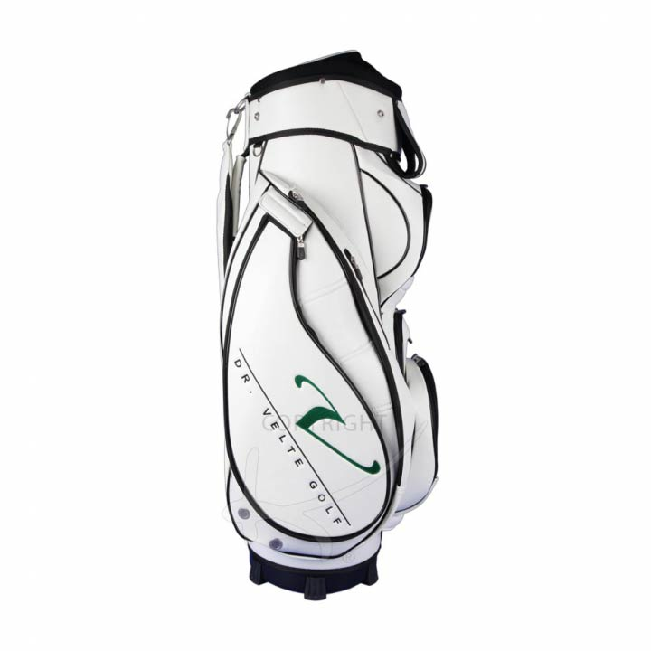 Golf bag / cart bag for golf teams. 4 custom stitched areas.
