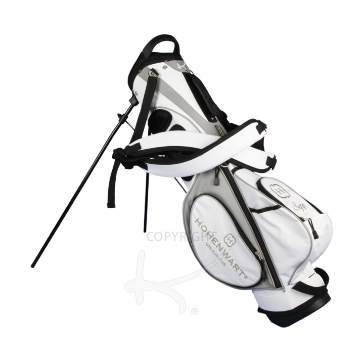 Golfbag Typ Pencil Standbag MARRAKESH. Firmenlogo. 4 Stickbereiche