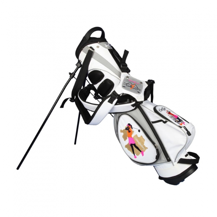 Golfbag Typ Pencil Standbag MARRAKESH online designen. 4 Stickbereiche