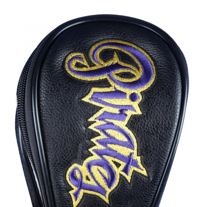 Customized head cover set 4 pieces. Different embroidery design for every head cover