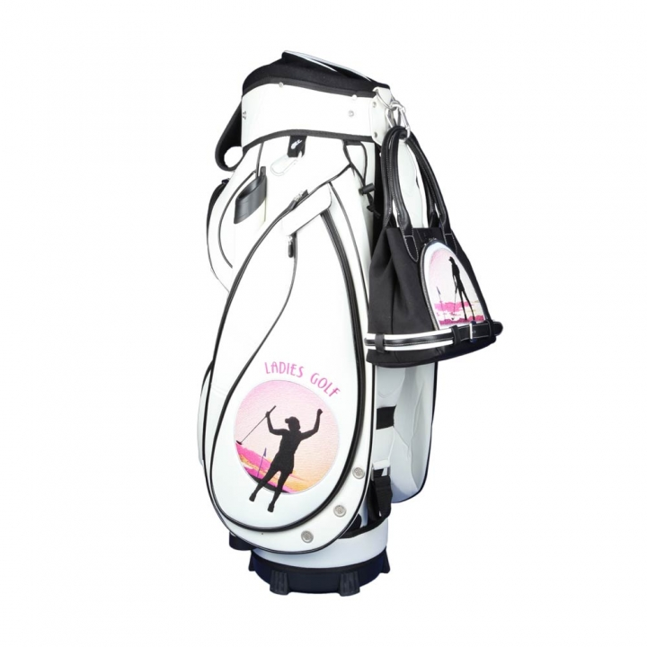 "Set da donna! Sacca da golf carrello MADEIRA & borsa MY WAY nel design ""GRANDE CIELO"""