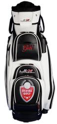 golf bag / Cartbag bestickt mit Clublogo